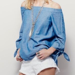 Free People 'Show Me Some Shoulder' Top XS